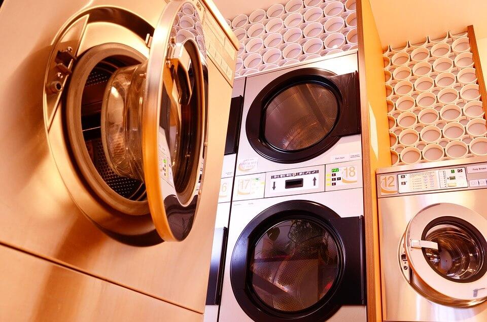 hoogte wasmachine